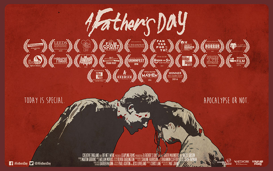 movie poster for A Father's Day a film by mat johns