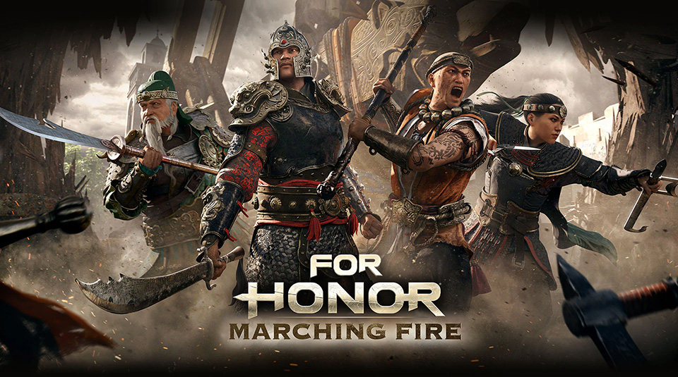 for honor marching fire e3 trailer